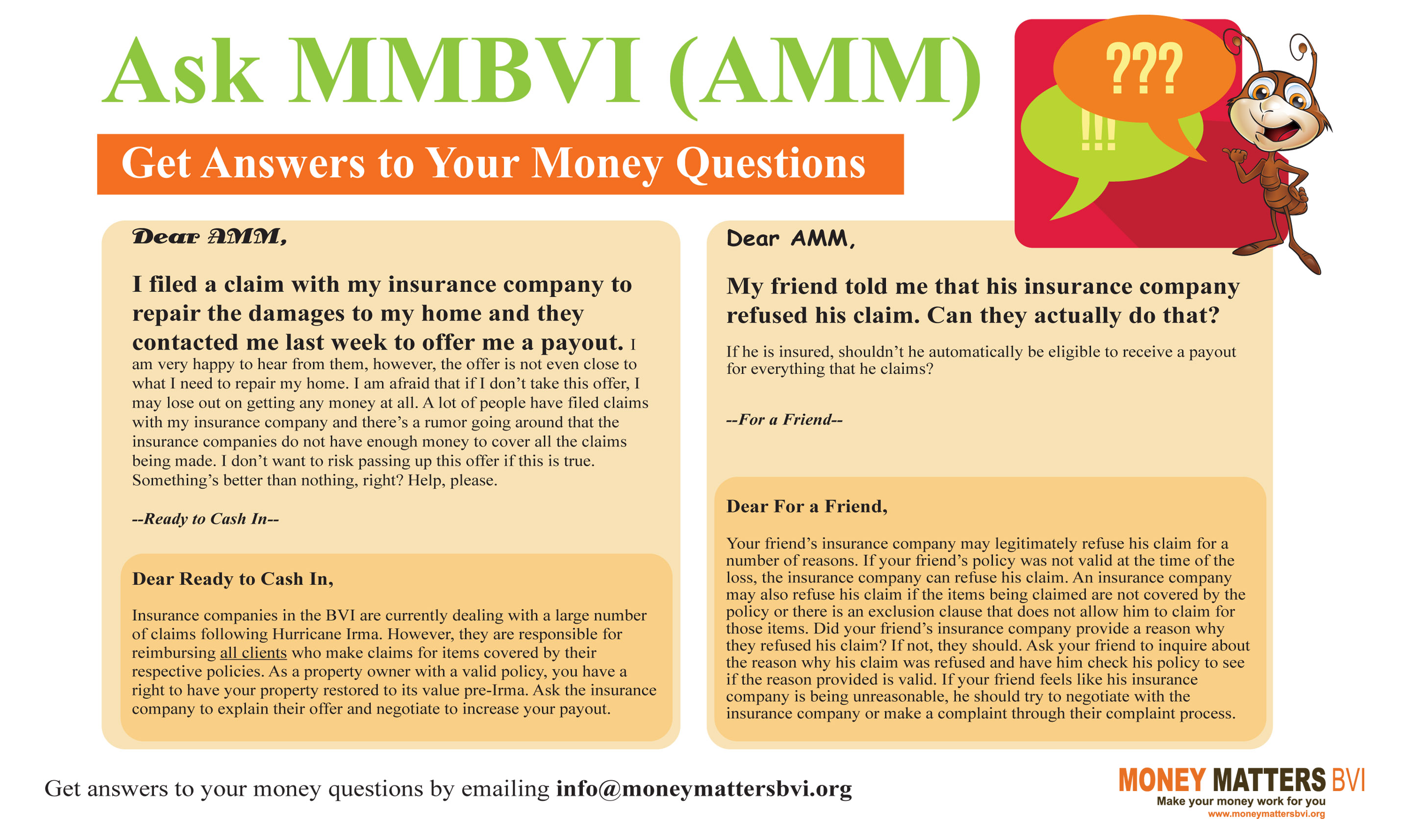 Ask MMBVI - Week 2