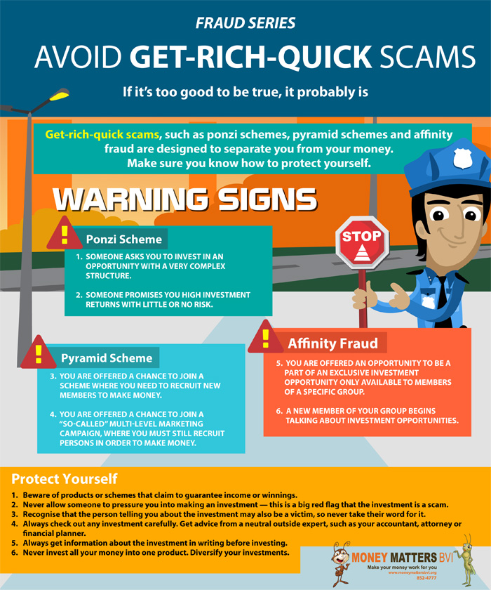 Fraud Series Avoid Get Rich Quick Scams